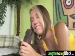 juvenile daughter gets pounded by large black