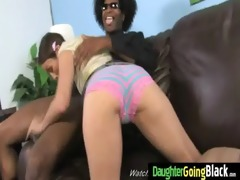 young daughter with nice ass drilled by a black