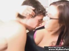 rock star licking mistress armpits