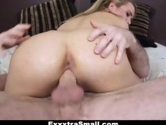 exxxtrasmall - skinny alina west fucking her step