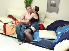 sister caught not her brother masturbate