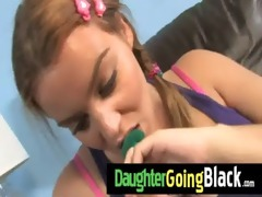watch my young girl going black 18