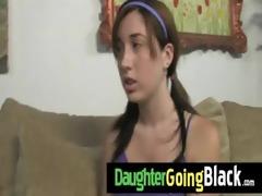 watch my juvenile hotty going black 12