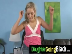 my daughter takes a real black cock 21