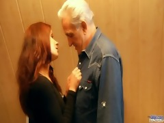 redhead slutty chick awards generous granddad
