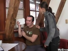 his dick pounds her cheating cunt