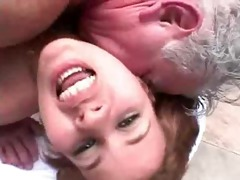 young doxy makes grandpa feel more alive than ever