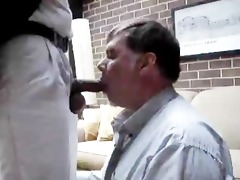 non-professional a daddy receives sucked and