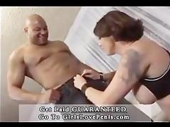 excited hottie wrestles a dark cock2