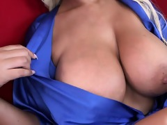 sexually excited stepmom shows how to have