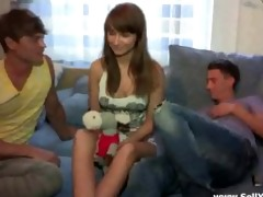 youthful cutie t live without impatient boyfriend