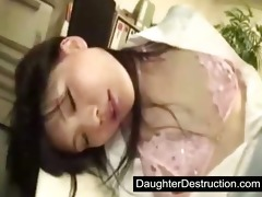 young japanese japanese daughter abuse