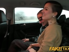 faketaxi i join horny married couple for an