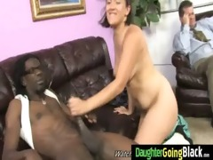 young daughter gets pounded by large dark rod 13