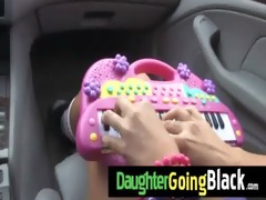black dude fucks my daughters young bawdy cleft 4