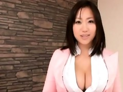 smoking sexy asian babe with gigantic part2