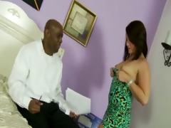 hungry step daughter receives a mouthful