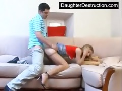 young teen roughly fucked hard