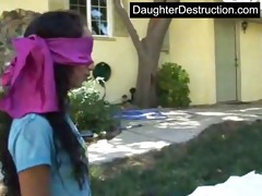 youthful daughter abused
