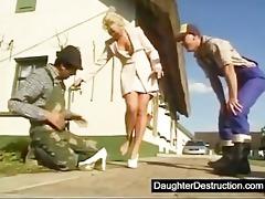 assault her teen arse