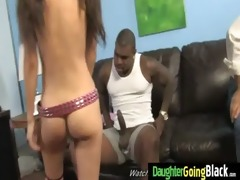 young daughter with fine wazoo fucked by a dark