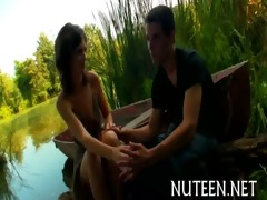 sexual teenie is drilled