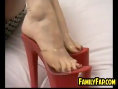step mother with great feet
