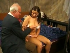 grand-dad and teen -