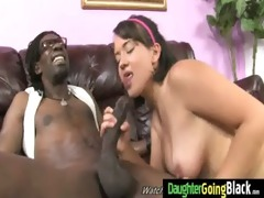 watchung my daughter getting screwed by dark cock