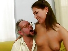 grandpa enjoying nasty sex with hawt legal age