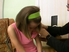 horny teacher seducing legal age teenager
