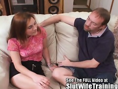 slutty wife face hole fuck lesson