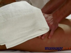 massage rooms tanned shaved breasty youthful