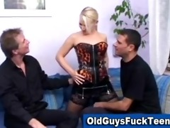 old guys fuck hot younger babe