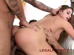 daughter brutal gagging