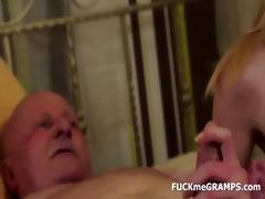 granddad ben enjoys tasting recent vaginas