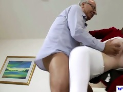 british dilettante screwed by old man cock