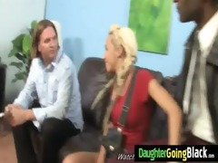 young daughter with nice ass drilled by a dark