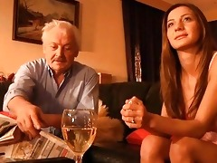 grandpa drilled by young alice