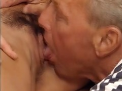 older man and lisa