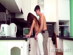 teen pussy is nailed well