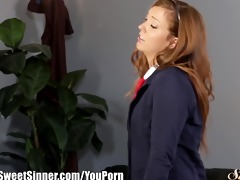 sweetsinner maddy oreilly drilled by teacher