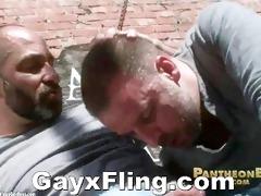 bear pair outdoor sexy fuck
