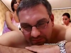 dad drilled two daughters