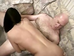 sexy shaved daddy bags another juvenile bimbo