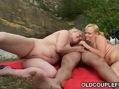 fishing tour with a threesome