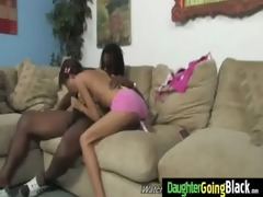 nasty teen fucked hard by black 19