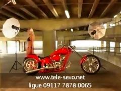 motorcycle can blonde www.tele-sexo.net 09117