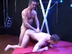 hung daddy lito raw bonks and fists younger cum