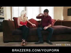 lonley blonde wife britney amber copulates her